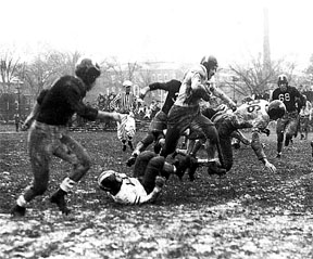 [Photo: Bates vs. Bowdoin, 1946]