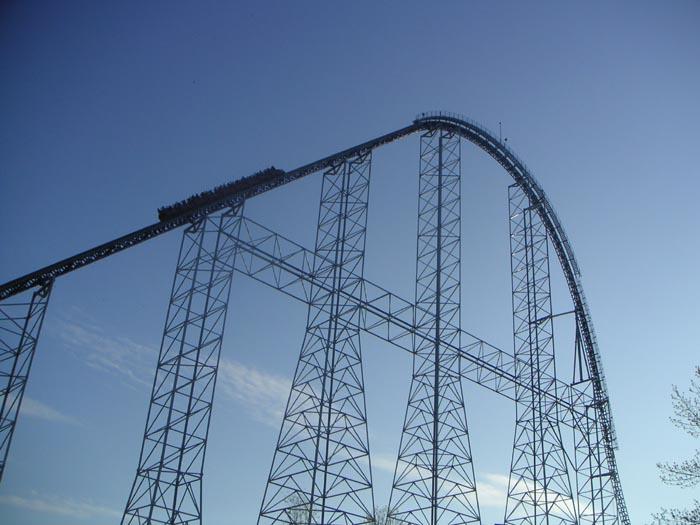 Roller Coaster Photos Millennium Force Drop