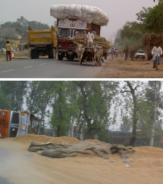Do not overload vehicles